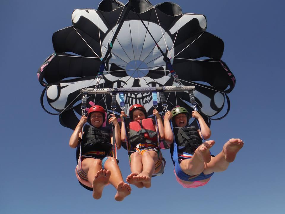 Parasailing fun  © Pirate Parasailing Fuengirola
