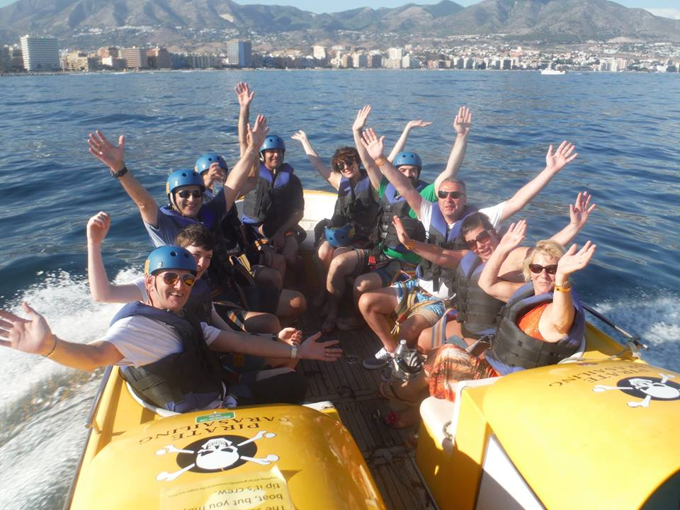 Fun at sea of Fuengirola  © Pirate Parasailing Fuengirola