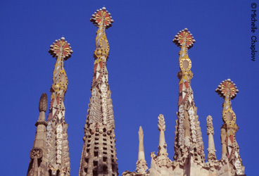Don't miss the Sagrada Familia unfinished church in Barcelona designed by Gaudi. © Michelle Chaplow