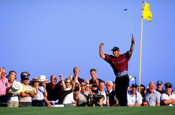 1999 WGC-American Express Championship Tiger Woods©GettyImages