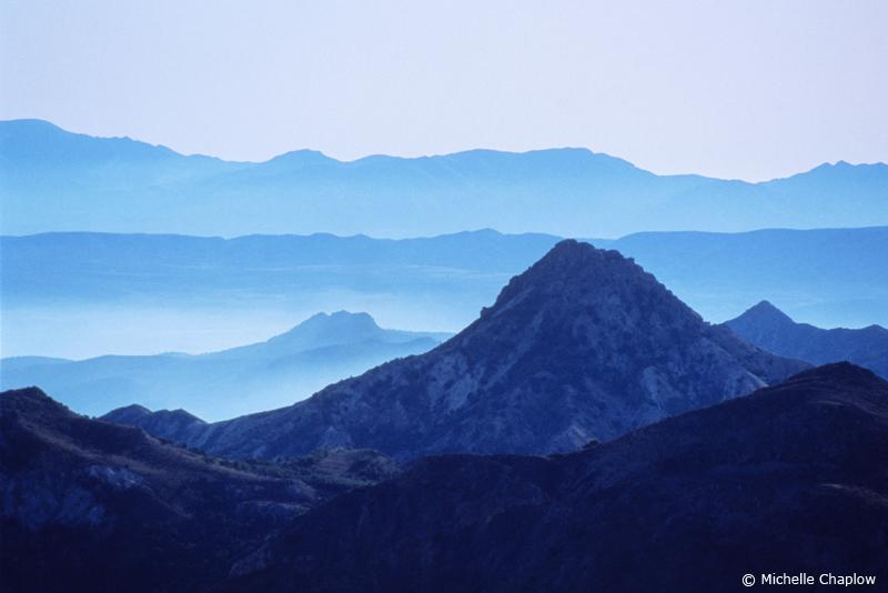 The Sierra Nevada Mountain range  © Michelle Chaplow