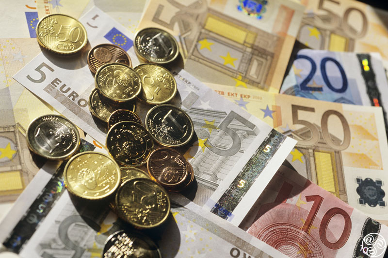 Euros and Banking  © Michelle Chaplow
