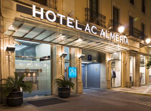 Lights on outside Hotel AC Almeria © Booking.com / Hotel AC Almeria