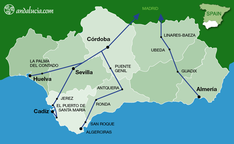ALVIA, ALTARIA, TALGO the Fast Long Distant Train Routes