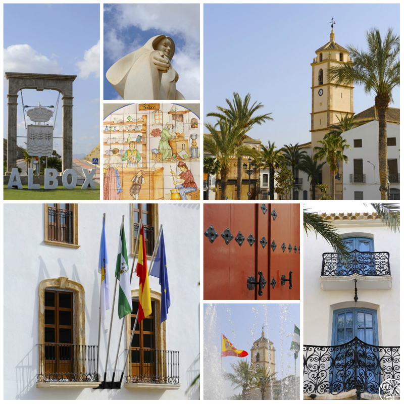 The small town of Albox, in the north of Almeria province © Michelle Chaplow