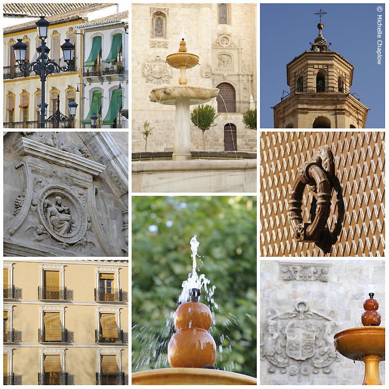 Baza, Iglesia Mayor and traditional Andalucian balconies  © Michelle Chaplow