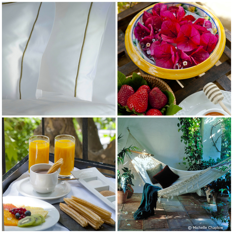 Bed and Breakfast In Andalucia © Michelle Chaplow