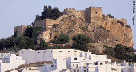 The Moorish Castle of Salobreña