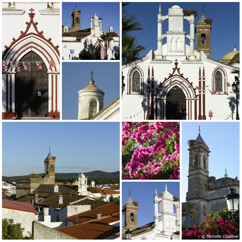The church of Santa Maria Magdalena, Cala, Sierra de Aracena  © Michelle Chaplow