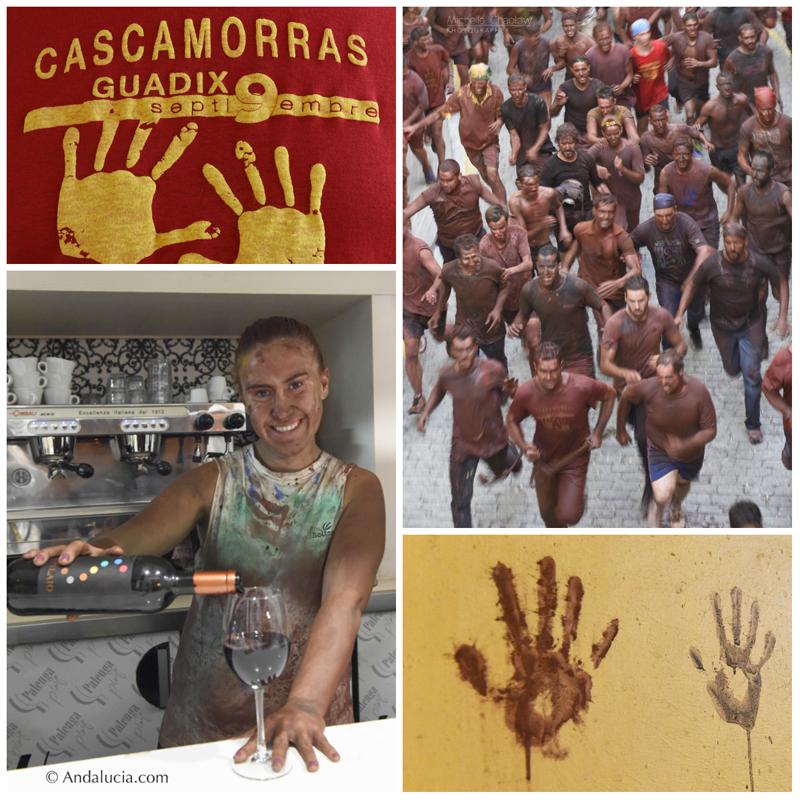 Cascamorras festival in Guadix © Michelle Chaplow