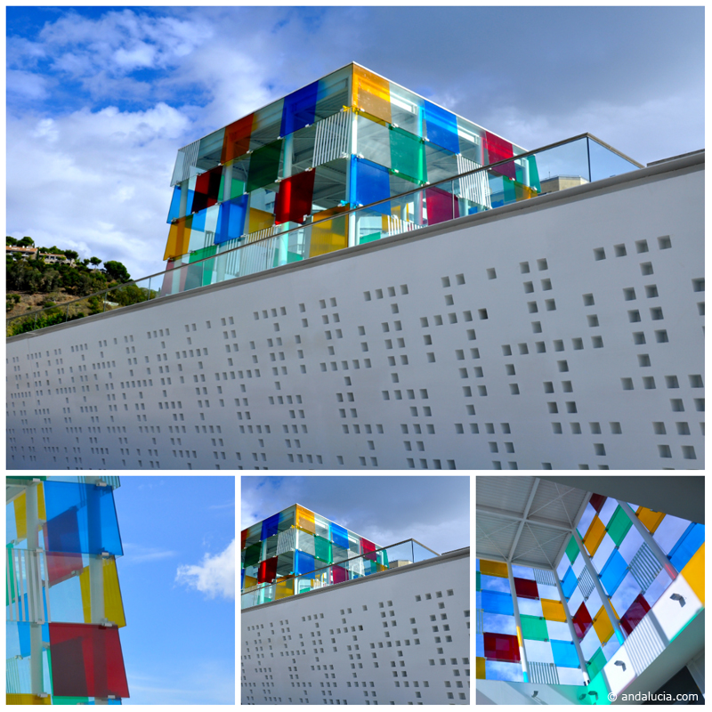 The Pompidou Centre in Málaga City © Michelle Chaplow