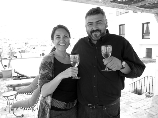 Chelsea with Frank Camorra- famous Australian chef and restaurateur who will be the official International Sherry Week Ambassador for Australia.