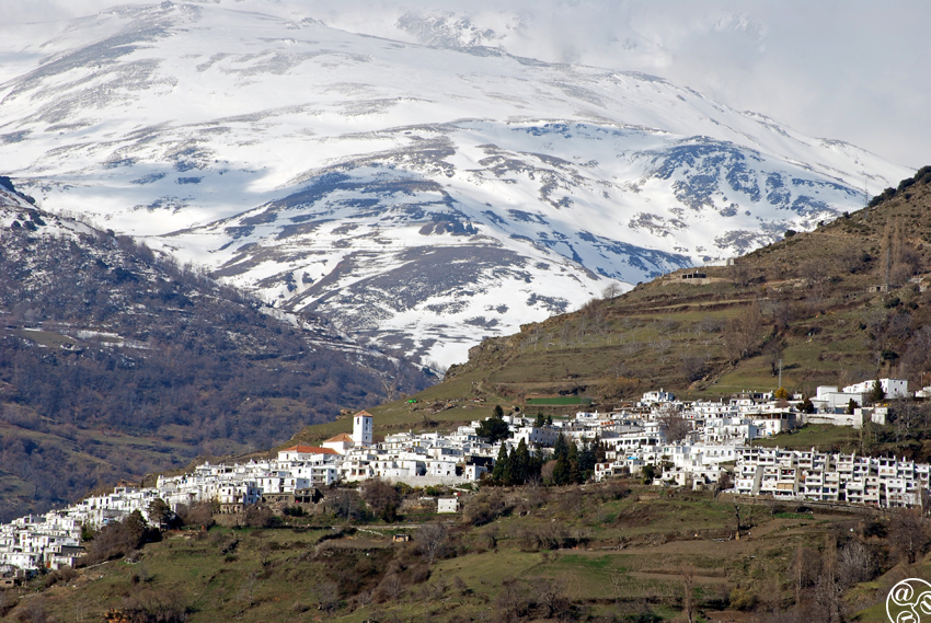 Capileira just below the mountains of the Sierra Nevada © William Eaton