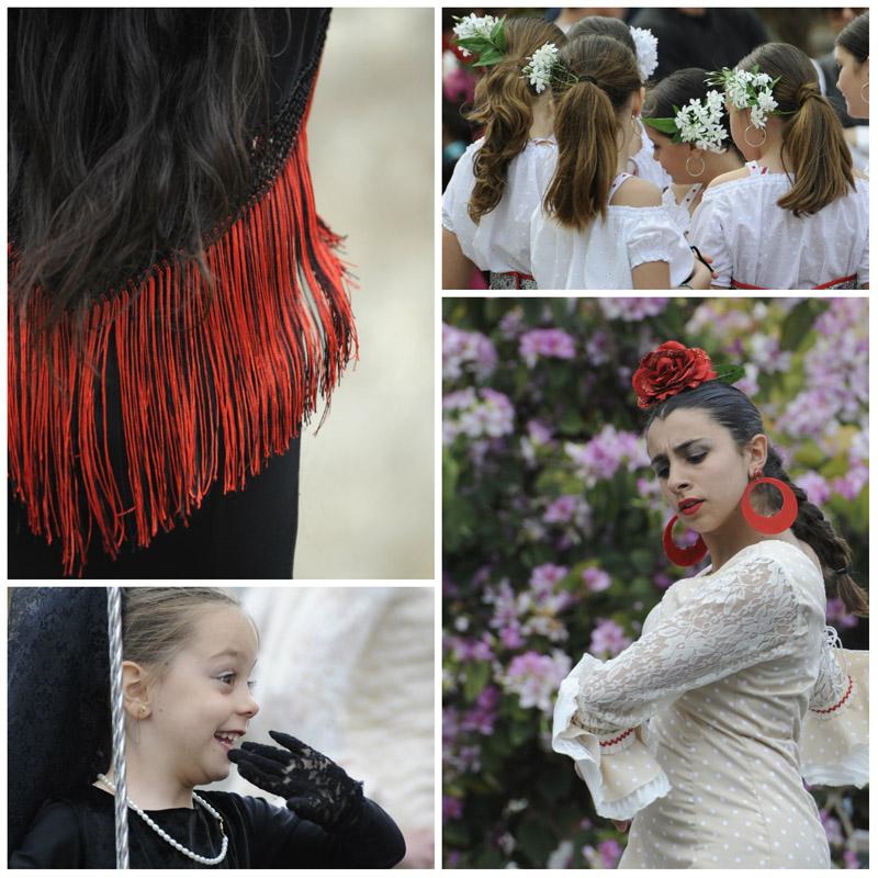Fiestas in Estepona, Malaga, Spain © Michelle Chaplow