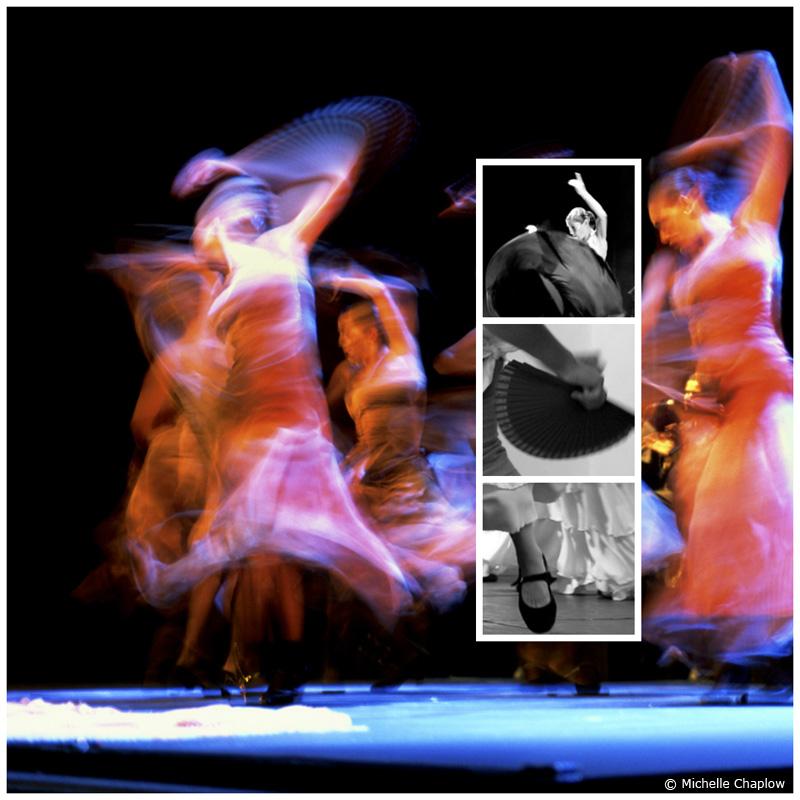 Flamenco is a passionate and seductive art form © Michelle Chaplow
