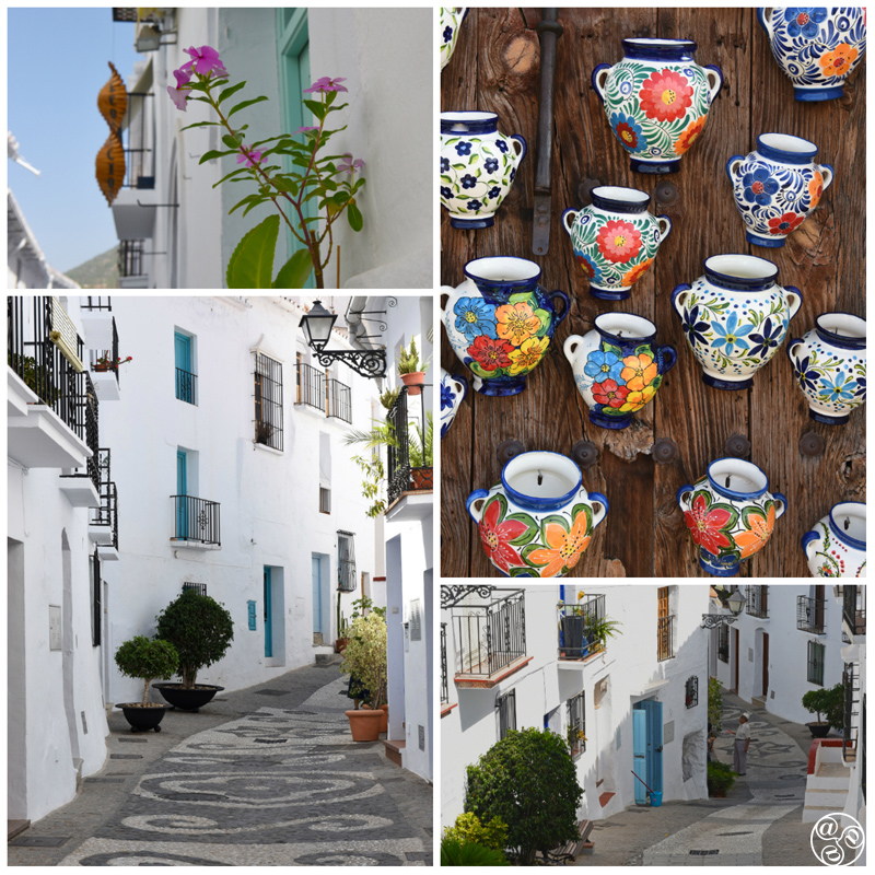 There is a photo on every corner in Frigiliana © Michelle Chaplow