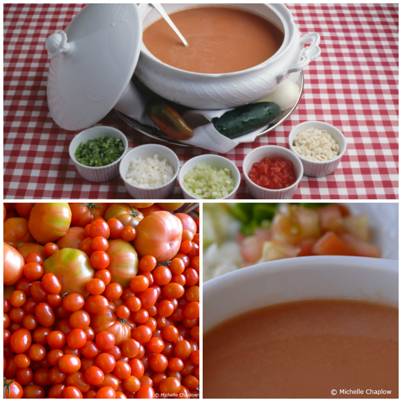 Summer just isn´t summer, without gazpacho © Michelle Chaplow