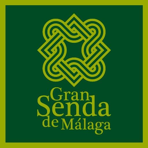 Look out for the Gran Senda de Malaga logo