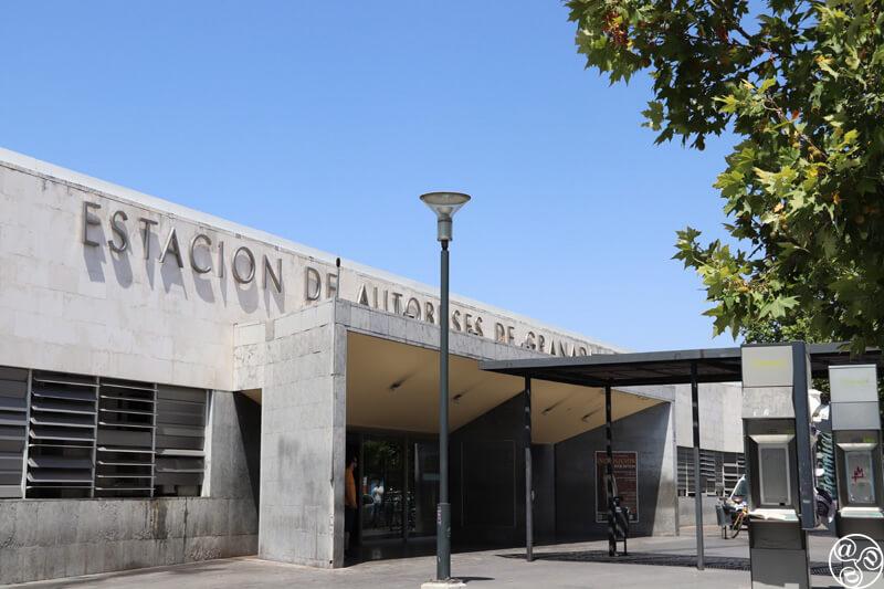 Entrance to Granada Bus Station © Max Phythian