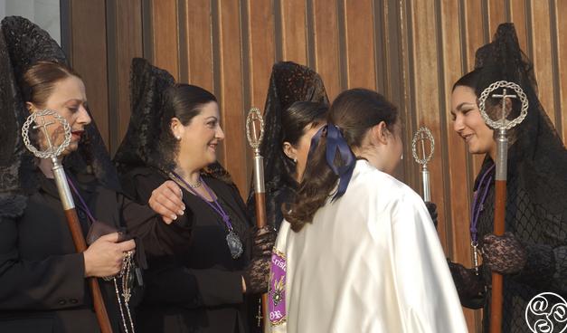Members of the Semana Santa cofradías © Michelle Chaplow