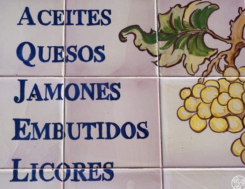 Spanish foods © Michelle Chaplow