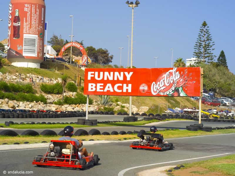 Funny beach Karting - closed down in September 2016