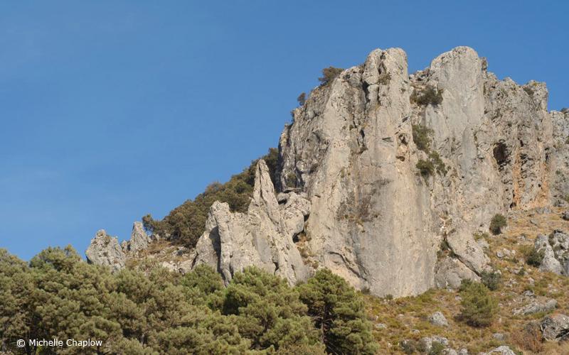 The mountainous area of Sierra Huetor  © Michelle Chaplow