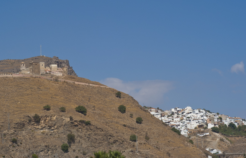 Alora's castle was first built by the Phoenicians. © Michelle Chaplow