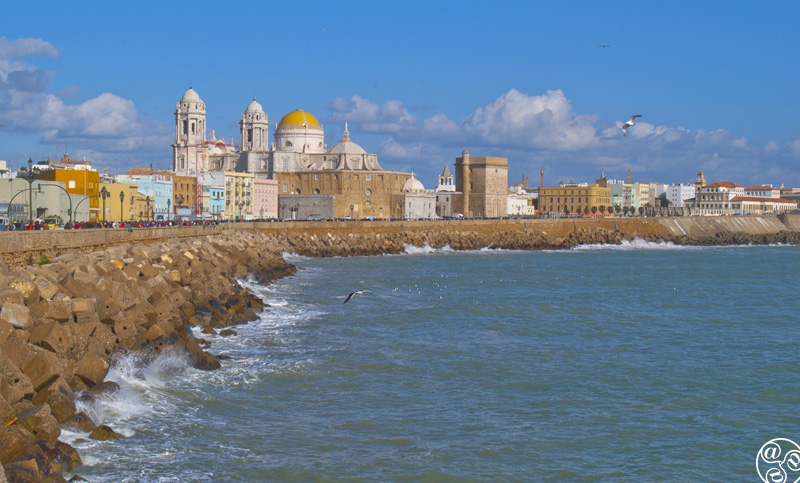 Cadiz formerly known as Gadir by the Phoenicians © Michelle Chaplow