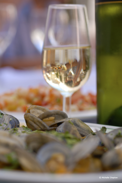 Sherry and seafood, a magical combination © Michelle Chaplow