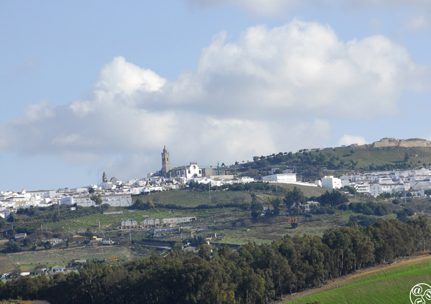 Up on the hill, the village of Medina Sidonia © Michelle Chaplow