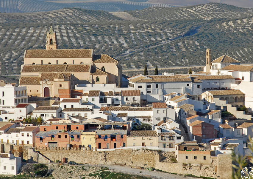 Baena boasts many fine monuments and produces superb olive oil ©Michelle Chaplow
