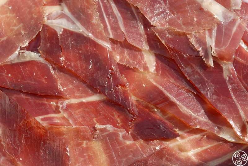 Jamón serrano, or mountain-cured ham  © Michelle Chaplow