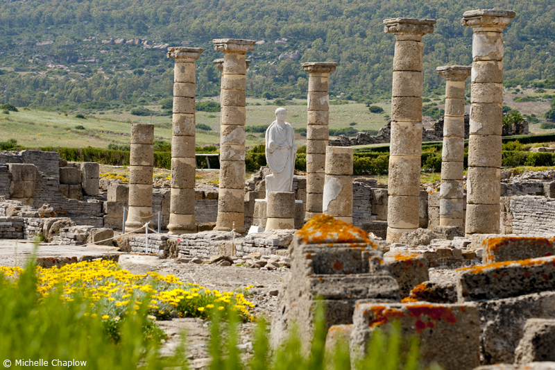 In prehistoric times, Great Roman cities strode across Andalucia © M Chaplow