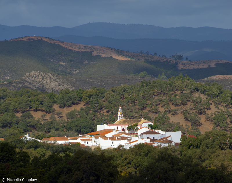 Corteconcepción is beautifully nestled within the Sierra de Aracena © M Chaplow