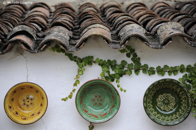 Hand-crafted pottery from Andalucia  © Michelle Chaplow