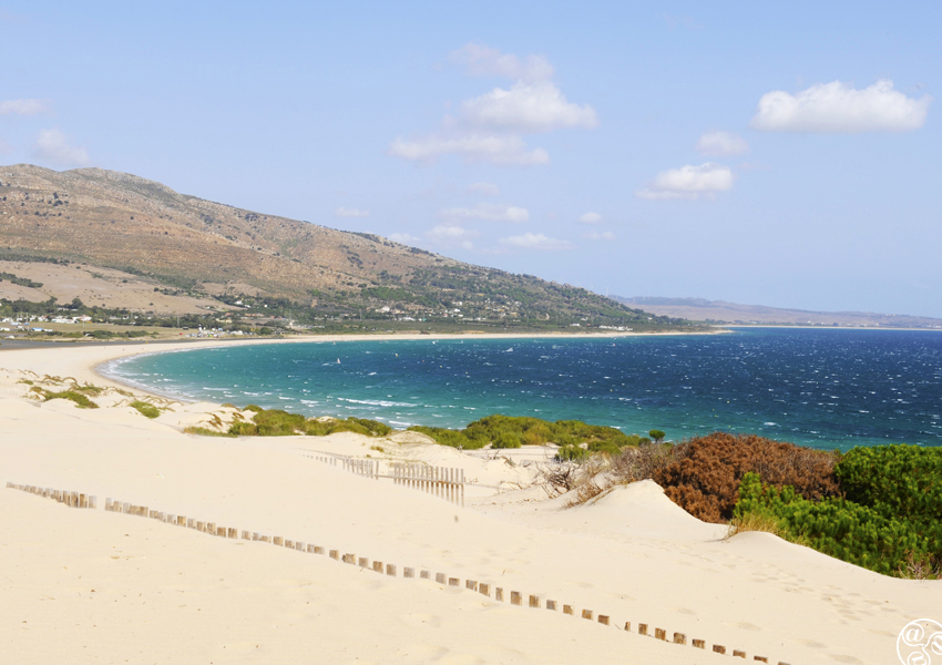 On top of the sand dunes in Tarifa © Michelle Chaplow