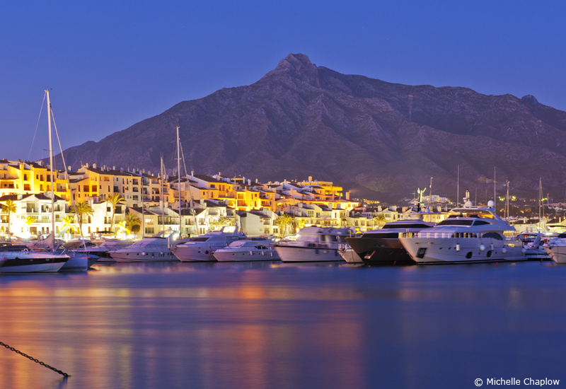 Puerto Banús marina is without doubt the main sight of this town © Chaplow