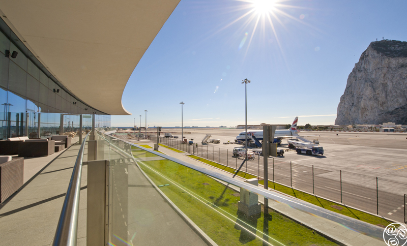 Gibraltar Airport © Michelle Chaplow
