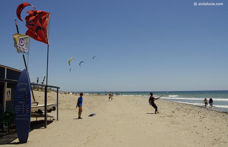 Learning to Kitesurf on Playa Rio Real