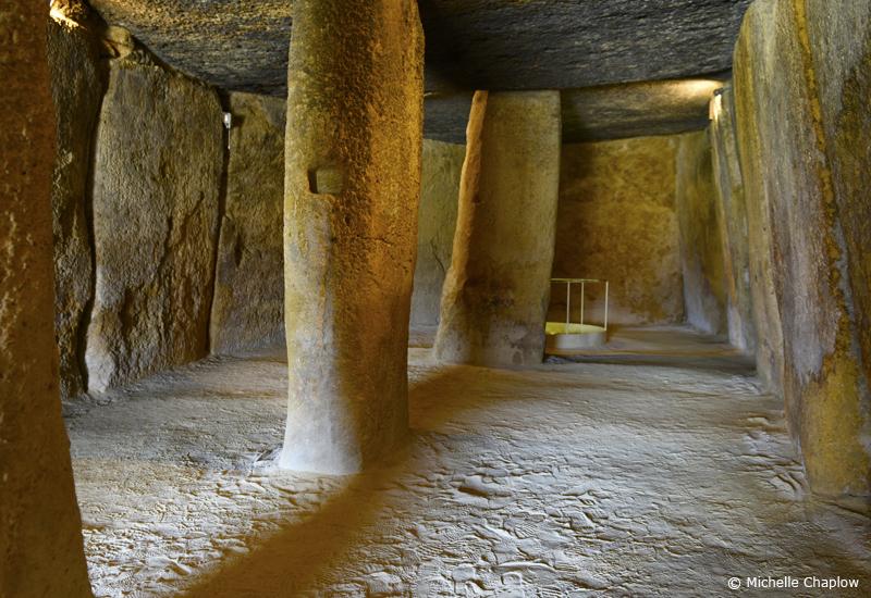 La Menga Dolmen, Antequera © Michelle Chaplow
