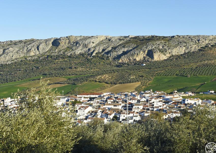 The village of Cuevas del Becerro © Michelle Chaplow