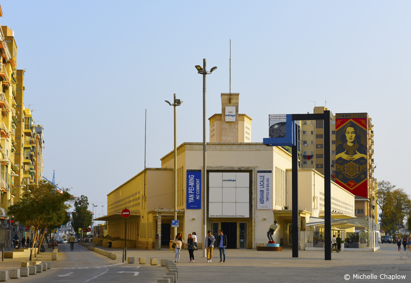 The CAC Malaga is housed in the former wholesale market © Michelle Chaplow