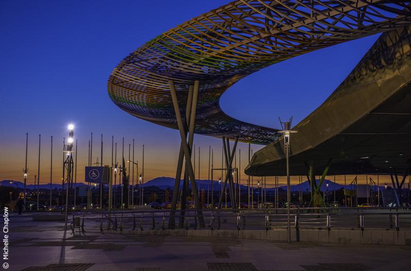 Málaga Palacio de Ferias y Congresos © Michelle Chaplow