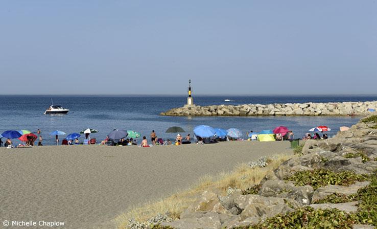 Torreguadiaro beach next to Sotogrande beach