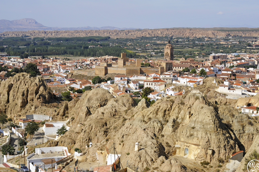 The village and the caves of Guadix © Michelle Chaplow