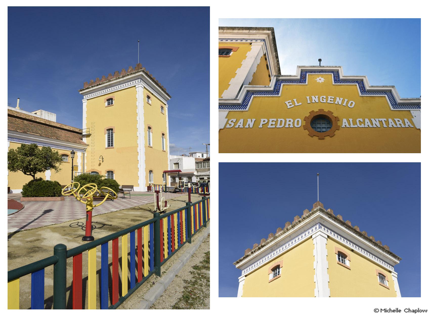 El Ingenio San Pedro, the original sugar factory.