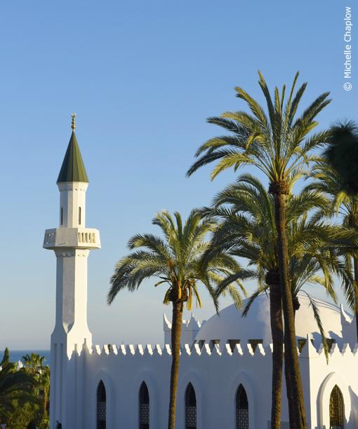 King Abdul Aziz Mosque or Marbella Mosque © Michelle Chaplow