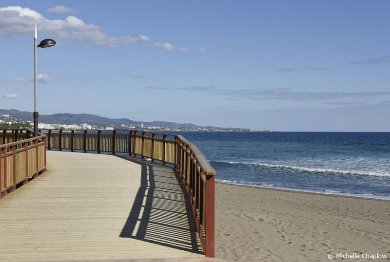 Senda litoral de malaga malaga coastal path - Boardwalk marbella ...