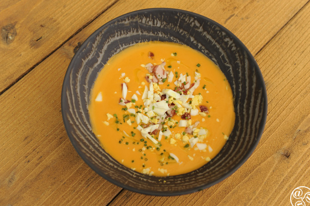 Salmorejo, a traditional dish © Michelle Chaplow